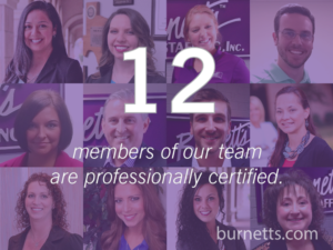 Burnett's Staffing Certified Staffing Professional