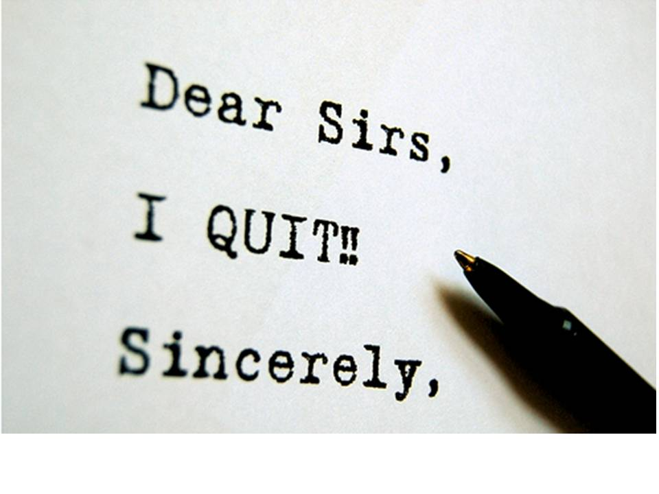 Quitting with Class-How to handle it the right way