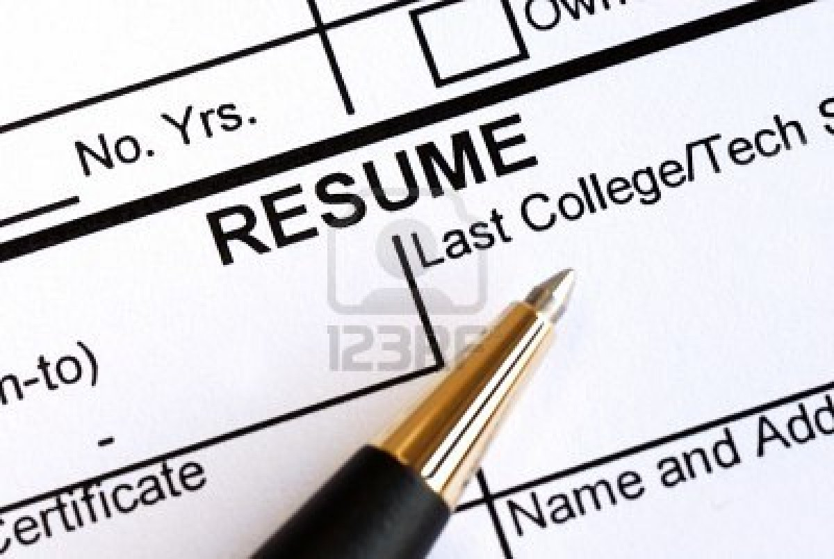 Resumes in 2012: What's old, what's new?